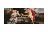 Sacred and Profane Love Posters af Titian (Tiziano Vecelli)