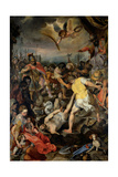 Martyrdom of St. Vitalis Prints by Barocci Beccafumi