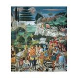 Journey of the Magi Print by Benozzo Gozzoli