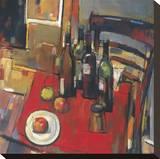 Vin Rouge Reproduction sur toile tendue par Jay Li
