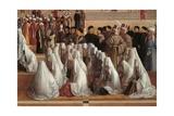 Sermon of St. Mark in Alexandria Prints by Gentile & Giovanni Bellini