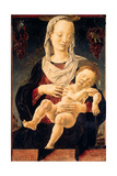 Madonna with Sleeping Child (Madonna of the Zodiac) Art by Cosimo Tura