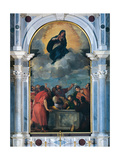 Assumption of the Virgin Mary Pósters por  Titian (Tiziano Vecelli)