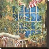 Cozy Corner I Stretched Canvas Print by Elizabeth Jardine