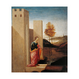 Story of Esther. Queen Vasthi Leaving the Ream Prints by Filippino Lippi