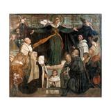 Virgin of Carmel Prints by Moretto da Brescia da Brescia