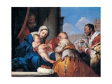 Adoration of the Magi, Giulio Carpioni, 17th c. Private Collection. Art by Giulio Carpioni