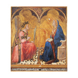 Annunciation Art by Ambrogio Lorenzetti