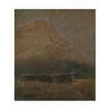 Mountain of Tremezzo Posters by Vittore Grubicy de Dragon