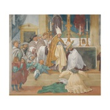 Stories of St. Bridget Giclee Print by Lotto Lorenzo