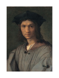 Portrait of Baccio Bandinelli (or Self-portrait) Poster by  Andrea del Sarto