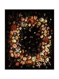 Garland of Flowers (Still Life) Kunstdrucke von Pier Francesco Cittadini