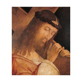 Jesus Christ Bearing the Cross Prints by Bernardino Zaganelli
