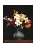 Daffodils and Tulips Poster von Henri Fantin-Latour