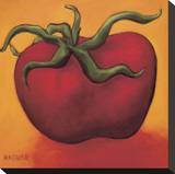 Tomato Stretched Canvas Print by Will Rafuse