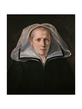 Portrait of a Widow or Portrait of the Mother Poster von Guido Reni