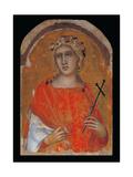 St. Margaret (St Cecilia) Giclee Print by Pietro Lorenzetti