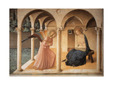 Annunciation with Gabriel Archangel Plakater af Beato Angelico