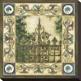 Garden Gate Stretched Canvas Print by Elizabeth Jardine