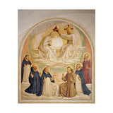 Coronation of the Virgin Giclee Print by  Beato Angelico