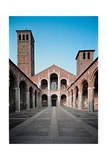 St. Ambrose Basilica, 1080. Milan, Italy Posters