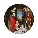 Adoration of the Holy Child Prints by Piero di Cosimo
