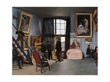 Artists Studio, Rue de la Condamine Posters by Frederic Bazille