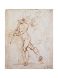 Drawing, Flagman Reproduction procédé giclée par  Raphael