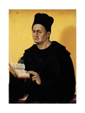 Portrait Benedictine Abbot Giclee Print by Jan Polack