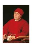 Cardinal Tommaso Inghirami Posters par  Raphael