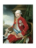 Portrait of Don Ferdinando of Bourbon Print by Johann Zoffany