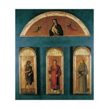 Triptych of St. Lawrence Prints by Gentile & Giovanni & Jacopo Bellini