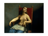 Death of Cleopatra Poster by Guido Cagnacci