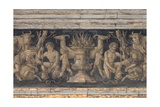 Frieze with Scenes of Sacrifice, Cristoforo Caselli, 1514. Parma, Italy Print by Cristoforo Caselli