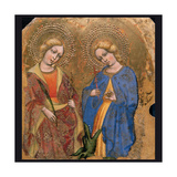 St. Apollonia and St. Theresa Posters by Jacobello del Fiore
