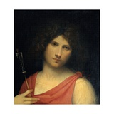 Boy with an Arrow (Apollo or Eros) Print by  Giorgione