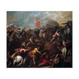 Victory of the Carnutesi (Celts) Kunstdrucke von Alessandro Varotari