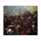 Victory of the Carnutesi (Celts) Giclee Print by Alessandro Varotari