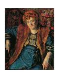 Portrait of Adalgisa Maffi Print by Umberto Boccioni