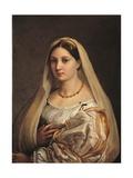 La Donna Velata Prints by  Raphael