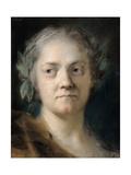 Self-portrait Kunst af Rosalba Carriera
