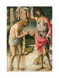 Kristi dåb Plakater af Lorenzo d'Alessandro