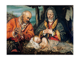 Holy Family Giclee Print by  Tintoretto