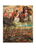 Allegory of the Battle of Lepanto Prints by  Veronese
