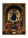 Our Lady of the Assumption of the Wool Merchants Posters by Defendente Ferrari Ferrari
