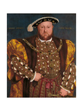 Portrait of Henry VIII Giclee Print by Hans Holbein