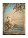 Ruggiero Saving Angelica Prints by Tiepolo Giambattista