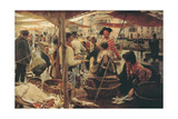 Old Fish Market Prints by Ettore Tito