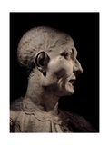 Bust of Actor Raymond Poisson Known as De Belleroche, 1633-1690. Scala Theater, Milan, Italy Posters
