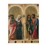 St. Luke, the Virgin, St. John the Baptist and St. Mark Prints by Cima da Conegliano